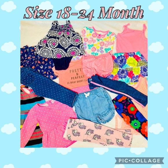 Girls Summer Size 18-24 Month Bundle/Lot